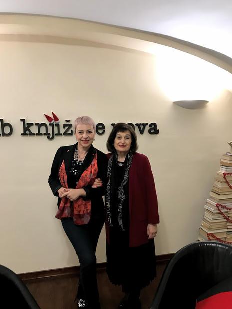 Dubravka Oraić Tolić i Jasna Horvat