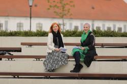 Jasna Horvat i Sunčica Oberman Peterka