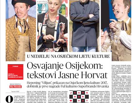Najava OSvojskog i Ars Eugeniuma na Osječkom ljetu kulture 2019,