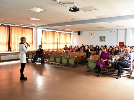 U osnovnoj školi Ivana Brlić Mažuranić predavanje o Milenijskom životu glagoljice