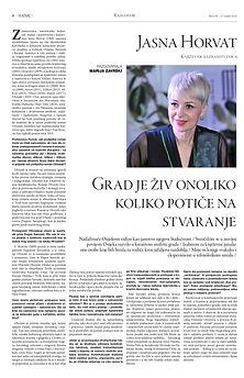 Jasna Horvat 2020_Vijenac 1