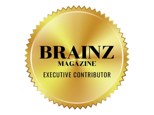 Appointed Executive Contributor of Brainz Magazine
