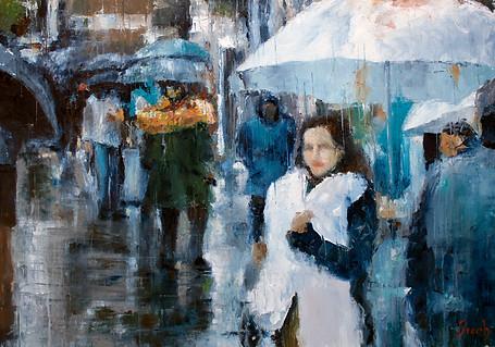 Walking in the rain - 315 €