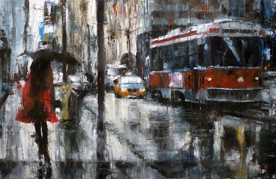 Rain in red - VENDIDO