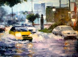 Trafico lluvia 35