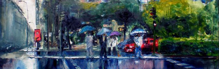 urbano lluvia 7