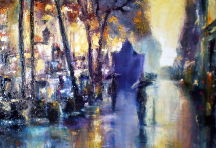 urbano lluvia 8