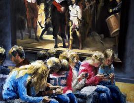 Visitando a Rembrandt - VENDIDO