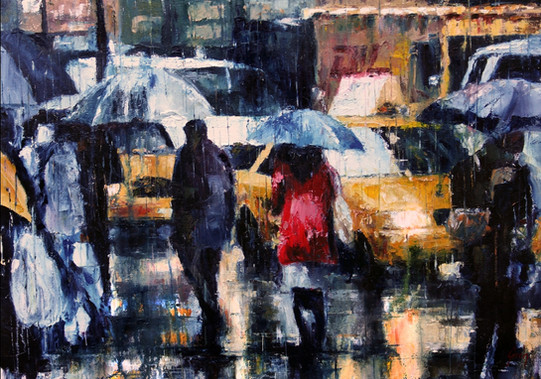 City rain - VENDIDO