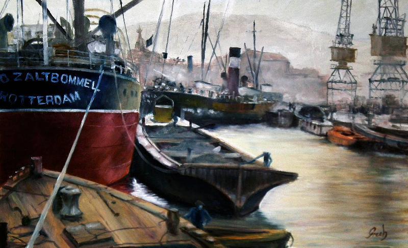 Puerto epoca industrial
