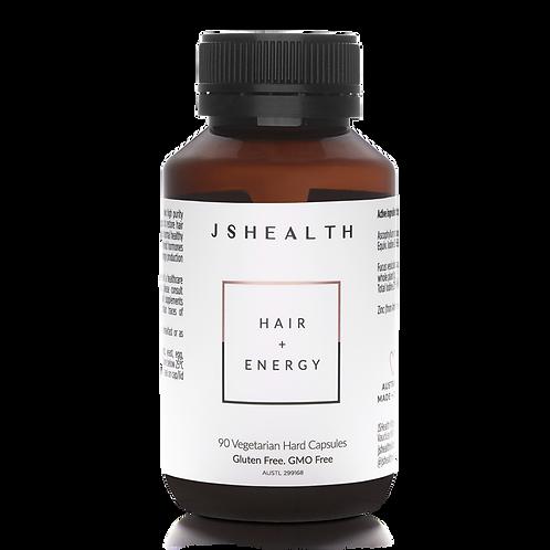 JS Health Hair + Energy Vitamins 90 Capsules