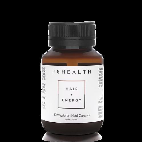 JS Health Hair + Energy Vitamins 30 Capsules
