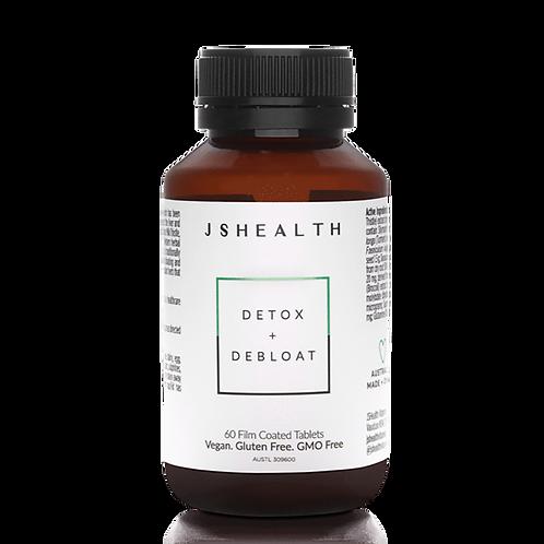 JS Health Detox + Debloat Vitamins 60 Capsules