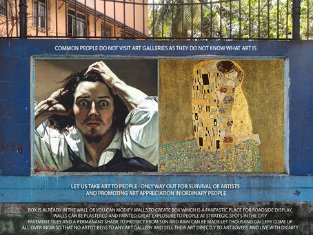 Indian artists network's KONADA art movement