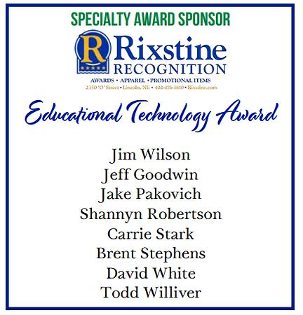 2020 NAE4-HYDP Educational Technology Award Recipients