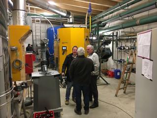 Biomasse Wärmeanlage aus für Schloss Wolfpassing in Betrieb gegangen!