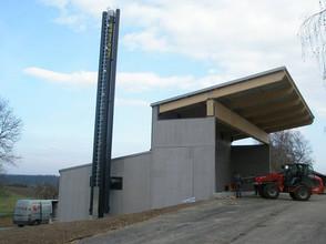 Biomasse Zentrale LFS Edelhof/Zwettl