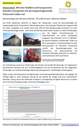 Projektfolder Prinzersdorf
