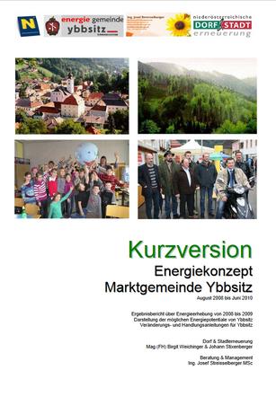 Energiekonzept Ybbsitz
