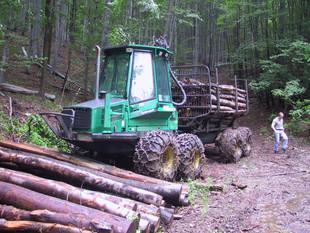 Biomasse Logistik