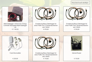 Online Shop für Energy Datenlogger online!