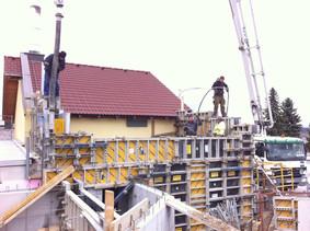 Bauphase möglichst kurz halten