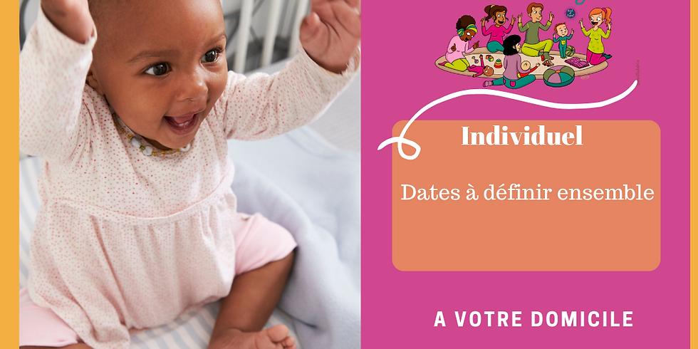 Individuel - Cycle de 4 ateliers bébé signe - Date à définir ensemble -