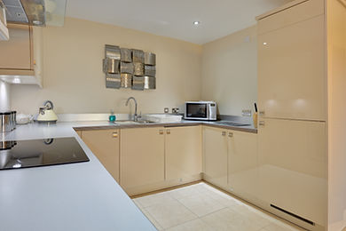 Whitby holiday apartment kitchen