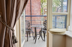 Whitby Apartment balcony