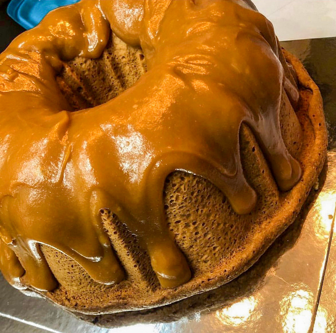 Caramel Poundcake
