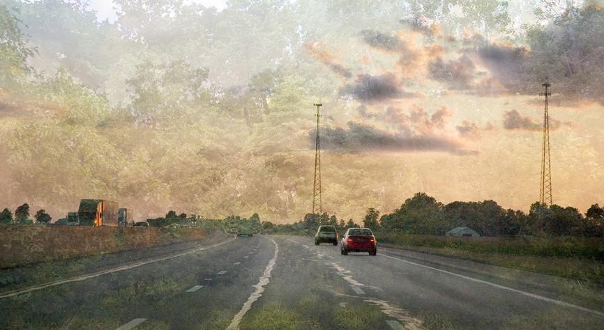 "Holzwege 3 (2006-2011), 18 x 34"" digital photomontage/ chromogenic print, limited edition of 3"