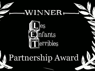 Les Enfants Terribles Partnership Award!
