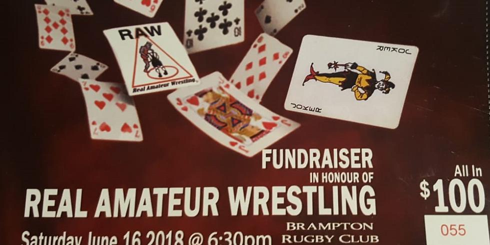 Real Amateur Wrestling (RAW) Poker Night