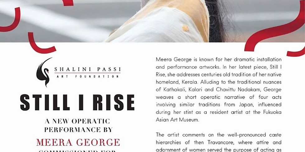 Still I Rise -  An Operatic Performance by Meera George