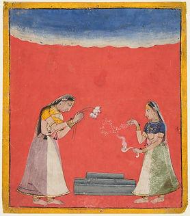 Women Worshipping a Shiva Linga.jpg