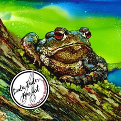 Frog on a Log