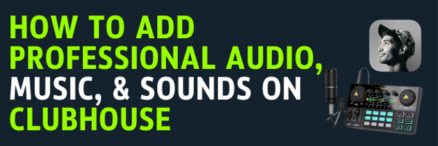 how to add professional audio, music, &