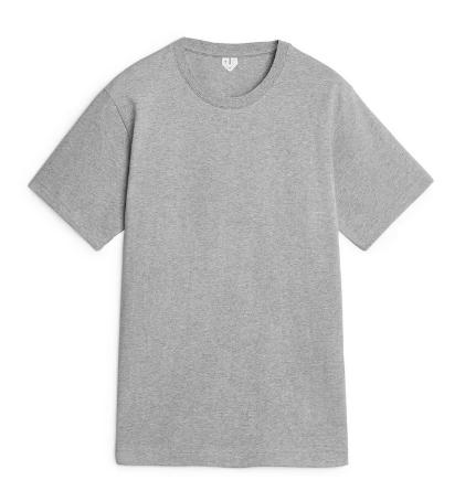 Camiseta masculina silueta amplia