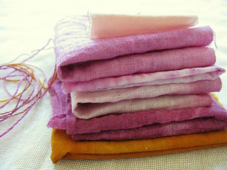 Cómo teñir tus prendas de forma Sostenible