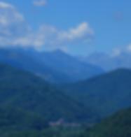 Venasca mit Weitblick auf das Valle Varaita