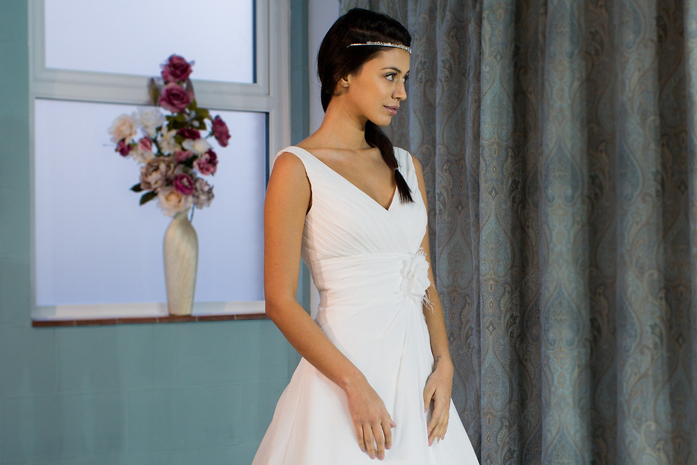 Victoria Kay BL16 - Empire wedding dress