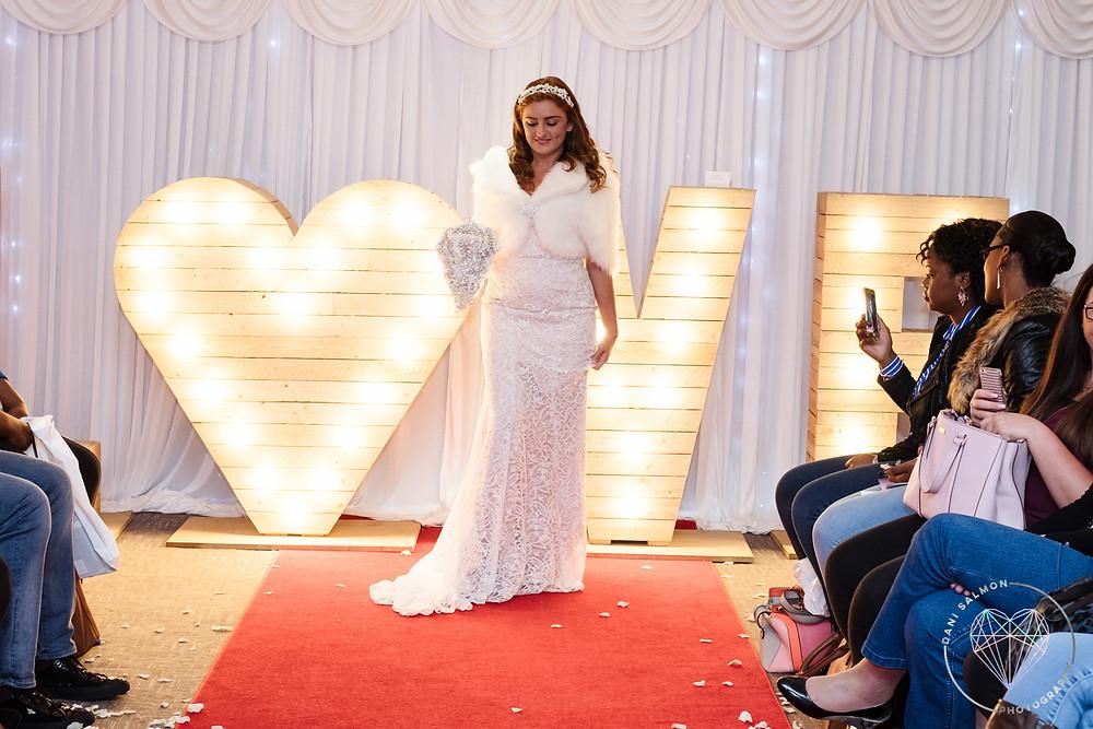 Casablanca sheath wedding dress