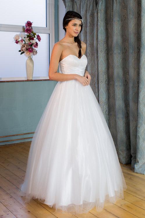 Victoria Kay strapless tulle ballgown
