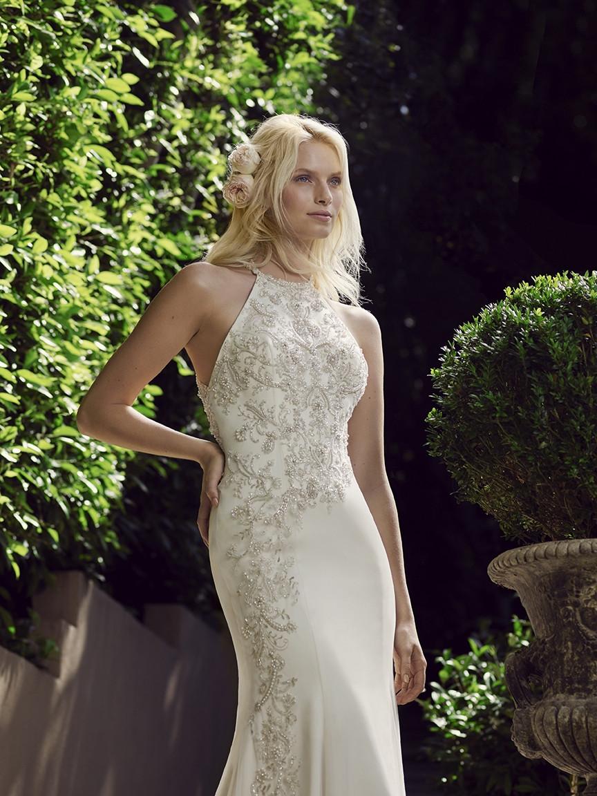 Mark Lesley wedding dress 2702