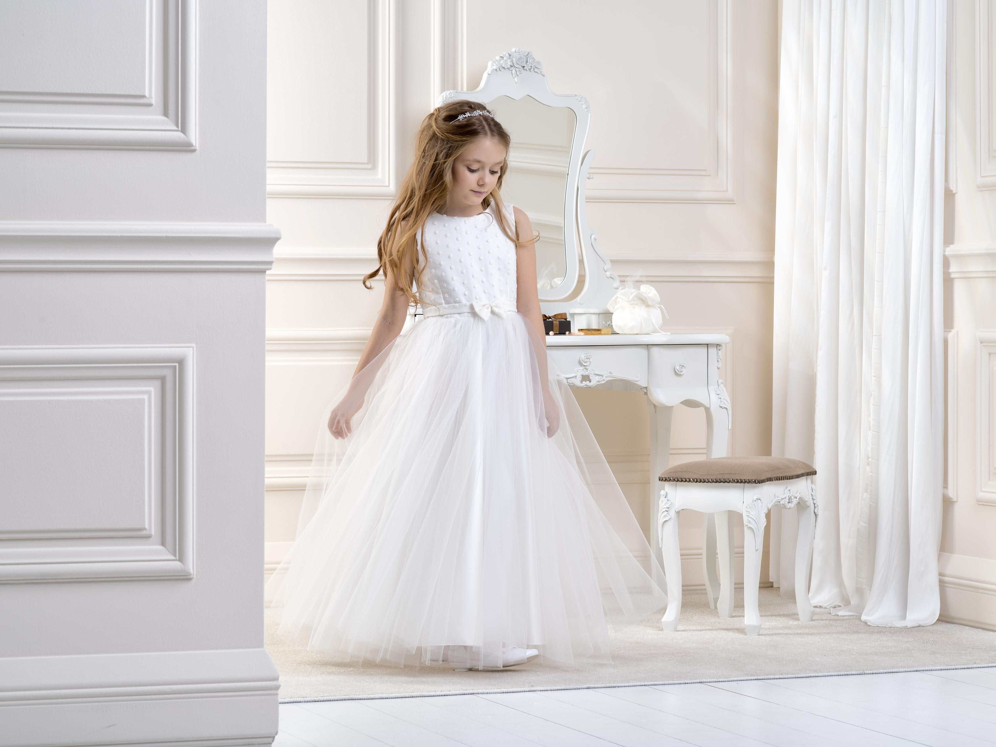 Flower Girl/Communion dress LB08