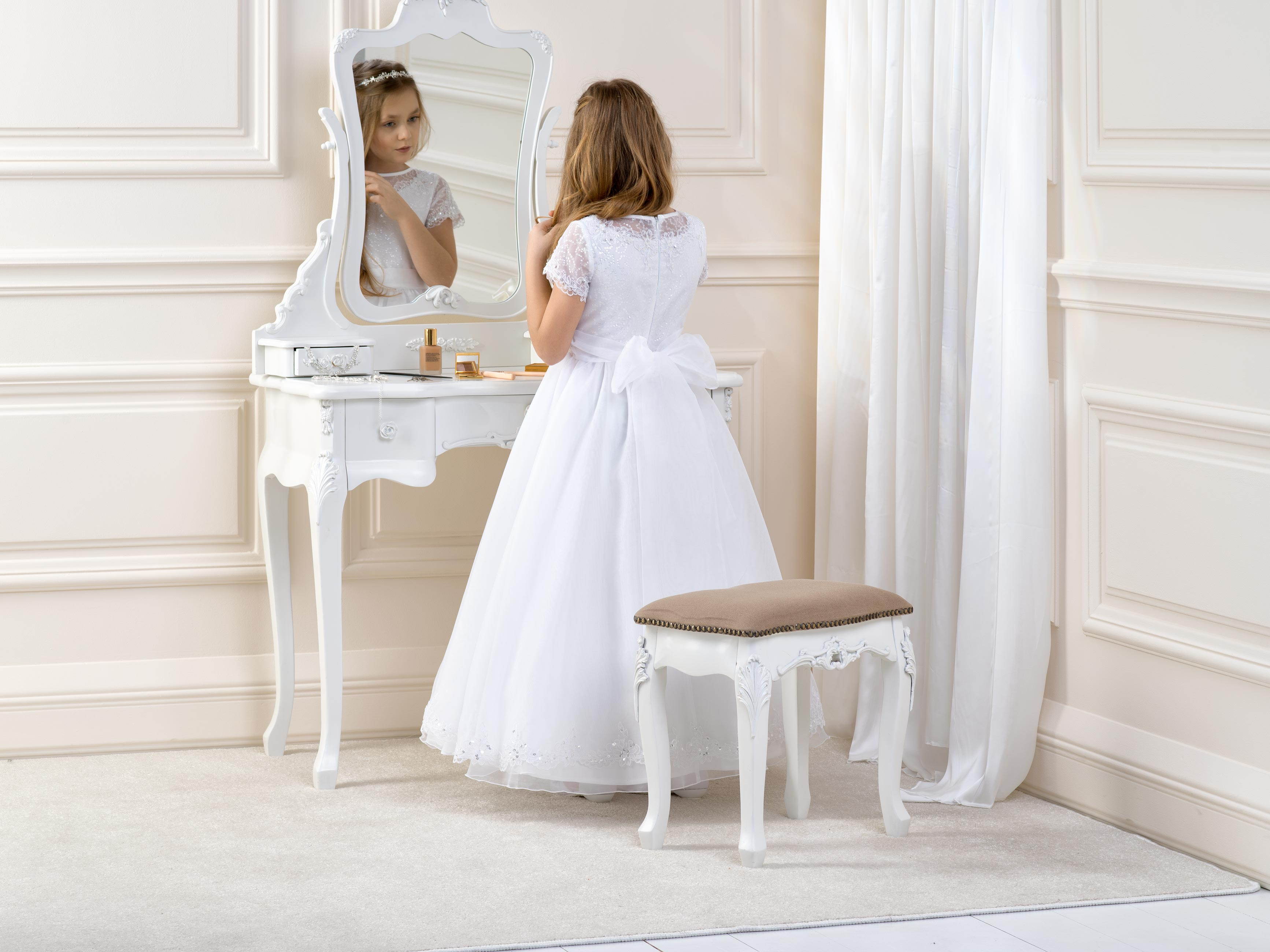 Flowergirl/Communion Dress LB14back