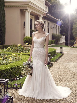 Our dress of the month - Casablanca Bridal Freesia 2234