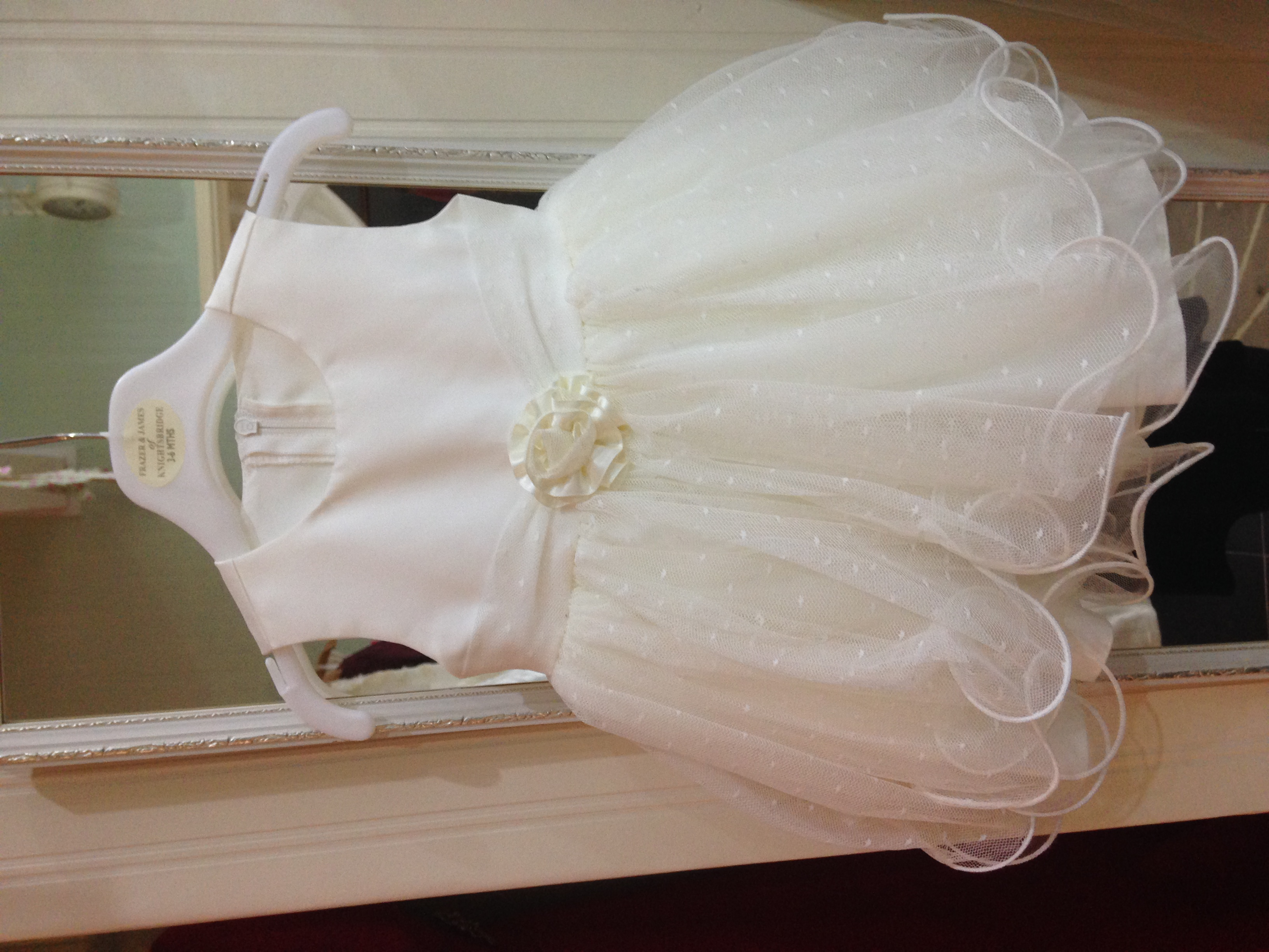 Baby girl wedding outfit