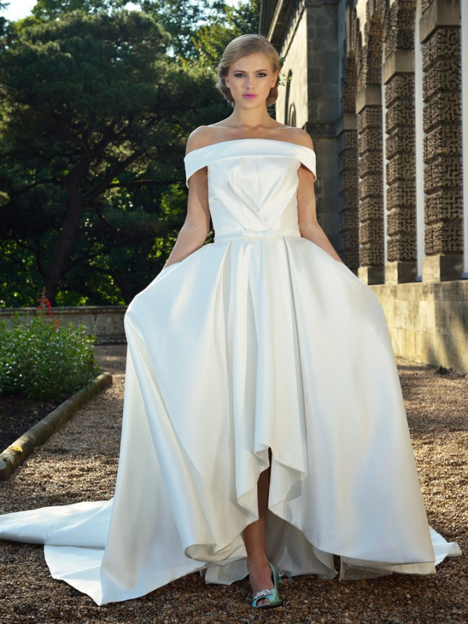 Mark Lesley wedding dress 2702