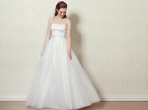 Separate tulle bridal skirt -Lilly 3094